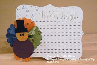 Thankful thoughts journal box