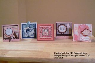 2009 3x3 Valentine Cards