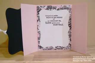 Fairy Tale Gated Card Inside