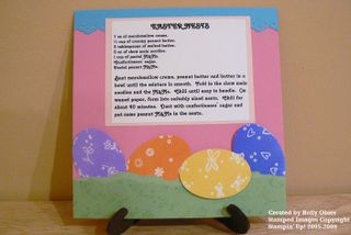 Easter Recipe Page