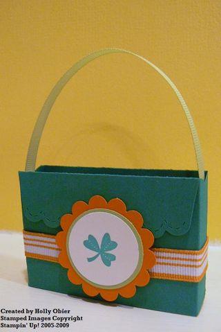 Shamrock purse