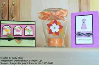 2009 Stamping and Cocktails Projects