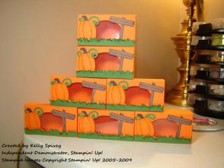 Pumpkin Patch Treat Boxes